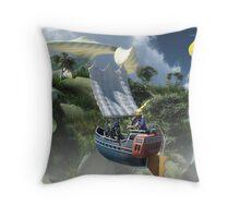 Sail On Sail On Throw Pillow