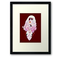 A Little Bit of Glam Framed Print