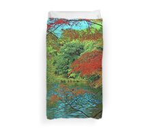 Hidden Paradise Duvet Cover