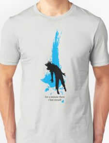 """For a minute there, I lost myself"" - Radiohead - dark Unisex T-Shirt"