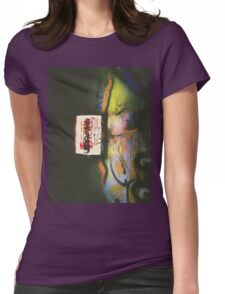 Graffiti Light Womens Fitted T-Shirt
