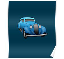 Classic Vintage Car Poster