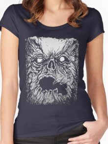 Evil Dead - The Book of the Dead - Necronomicon Women's Fitted Scoop T-Shirt