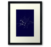 PEGASUS CONSTELLATION Framed Print