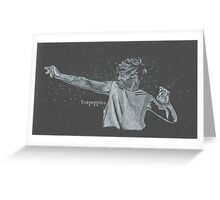 Water Fight Greeting Card