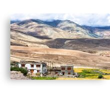 Mountain landscape near Rumste village in Ladakh region, India Canvas Print