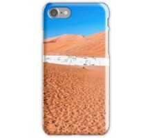 View of Deadvlei in early morning, Namibia iPhone Case/Skin