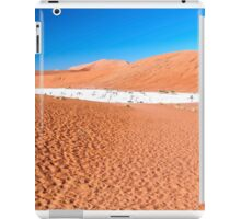 View of Deadvlei in early morning, Namibia iPad Case/Skin