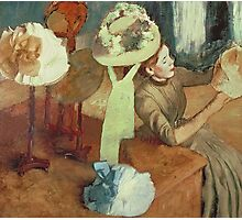 Edgar Degas - The Millinery Shop Photographic Print
