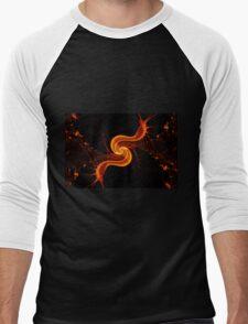 Fire Snail Men's Baseball ¾ T-Shirt