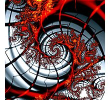 Fractal Web Photographic Print