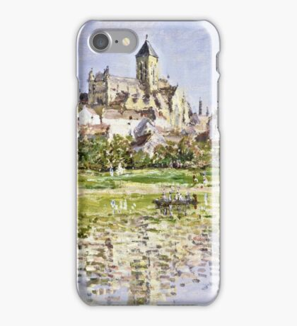 Claude Monet - The Church At Vetheuil 1880  iPhone Case/Skin