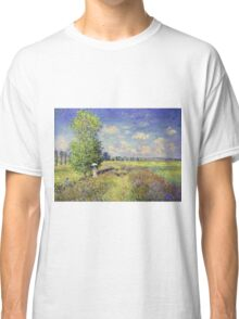 Claude Monet - The Summer Poppy Field Classic T-Shirt