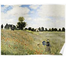 Claude Monet - Coquelicots, Environs Dargenteuil 1873  Poster