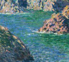 Claude Monet - Port Donnant Belle Ile Sticker