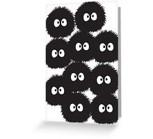 Soot Sprites Greeting Card
