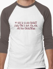 Some true about wifes & sex ;) Men's Baseball ¾ T-Shirt