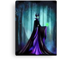 Maleficent (Sleeping Beauty Evil Queen) Canvas Print