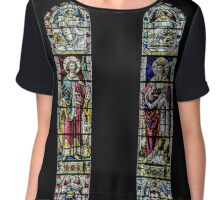 Stained glass nr3 Chiffon Top
