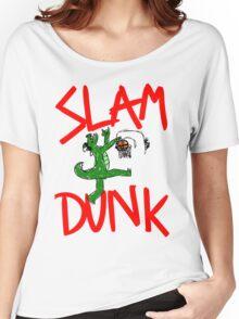 Slam Dunk Crocodile Women's Relaxed Fit T-Shirt