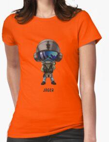 Jäger Chibi Womens Fitted T-Shirt