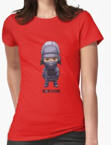 Montagne Chibi Womens Fitted T-Shirt