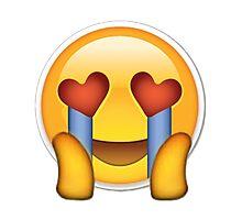 fangirl emoji Photographic Print