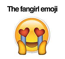 the fangirl emoji Photographic Print