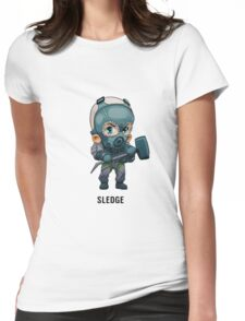 Sledge Chibi Womens Fitted T-Shirt