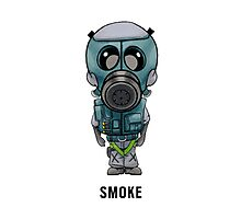 Smoke Chibi Photographic Print