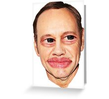 Buscemi Spacey Hybrid Greeting Card