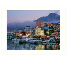 Victoria & Alfred Waterfront, Cape Town, South Africa Art Print