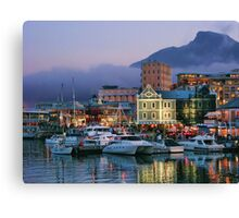 Victoria & Alfred Waterfront, Cape Town, South Africa Canvas Print