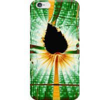 Fractal Leaf Matrix iPhone Case/Skin