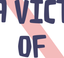 social casualty Sticker