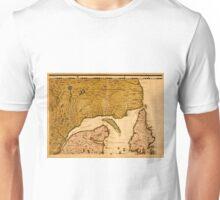 Map Of Newfoundland 1773 Unisex T-Shirt