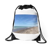 Lake Michigan Drawstring Bag