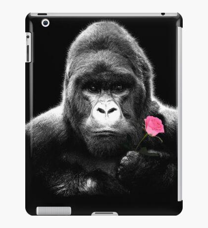 Gorilla Rose iPad Case/Skin