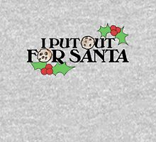 I put out for Santa Womens Fitted T-Shirt
