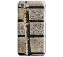 wooden walkway iPhone Case/Skin
