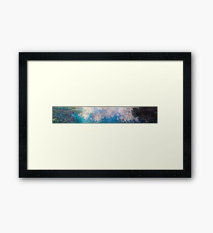 Claude Monet - The Water Lilies - The Clouds (1915 - 1926)  Framed Print