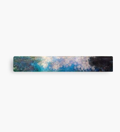 Claude Monet - The Water Lilies - The Clouds (1915 - 1926)  Canvas Print