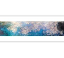 Claude Monet - The Water Lilies - The Clouds (1915 - 1926)  Sticker
