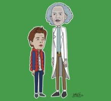 Doc and Marty by Eddie Mauldin