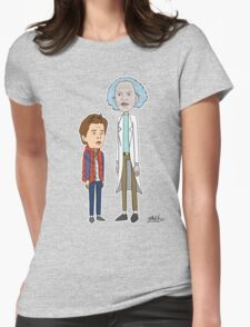 Doc and Marty Womens Fitted T-Shirt