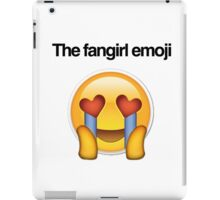 the fangirl emoji iPad Case/Skin