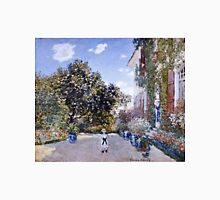 Claude Monet - Garden Of The Artist At Argenteuil 1873  Unisex T-Shirt