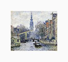 Claude Monet - Canal Amsterdam  Unisex T-Shirt