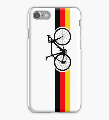 Bike Stripes German National Road Race iPhone Case/Skin