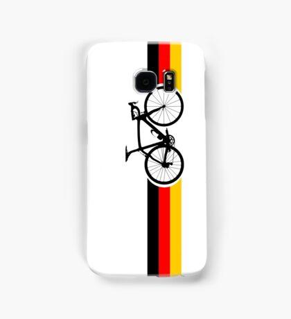 Bike Stripes German National Road Race Samsung Galaxy Case/Skin